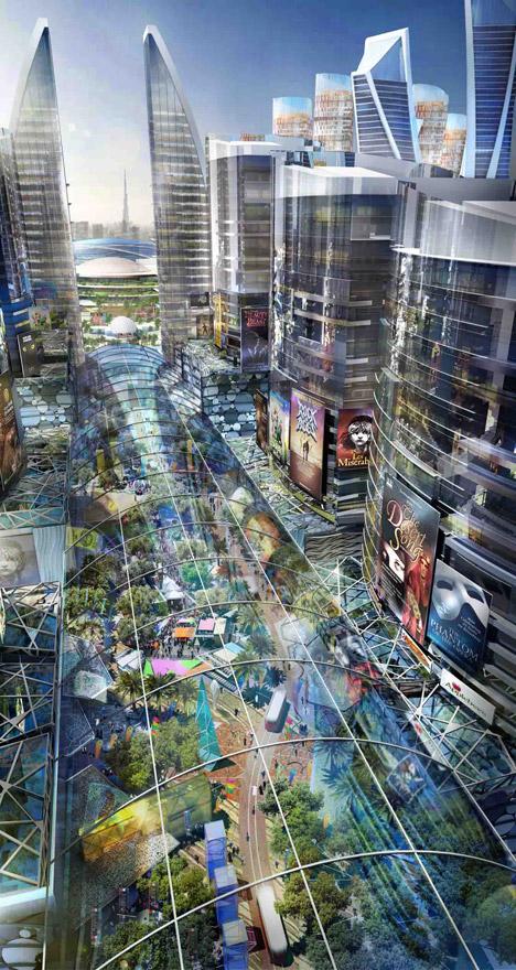 indoor-city-street-view