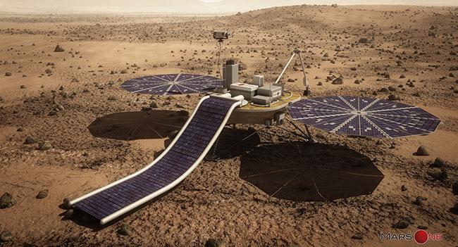 В 2018 году в рамках проекта Mars One на красную планету будет отправлено научное оборудование