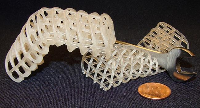Разработан материал, позволяющий создавать роботов с изменяемой формой