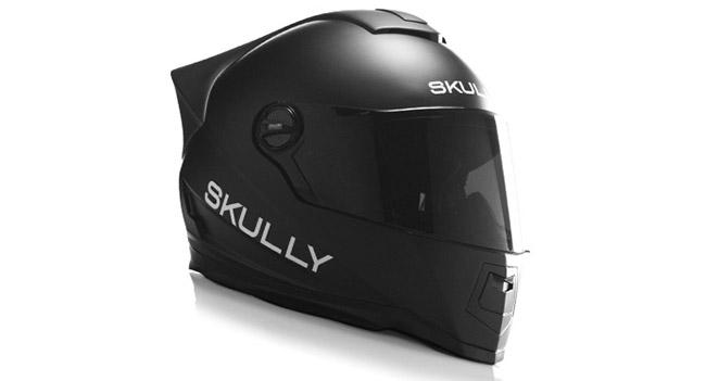 На Indiegogo собирают деньги для выпуска умного мотоциклетного шлема Skully AR-1