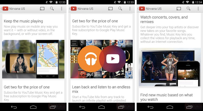 Google запустит сервис распространения музыки YouTube Music Key