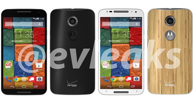 Появились фотографии и характеристики смартфона Motorola Moto X+1