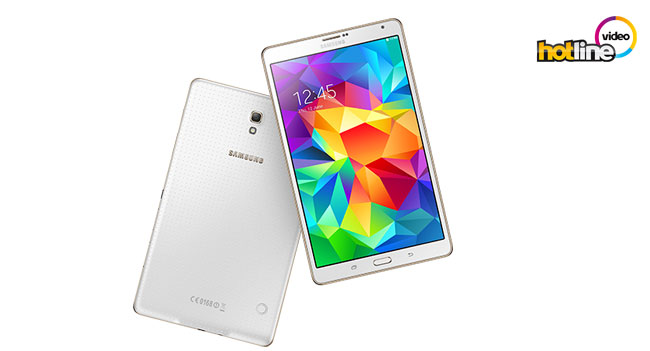 Видеообзор планшета Samsung Galaxy Tab S 8.4