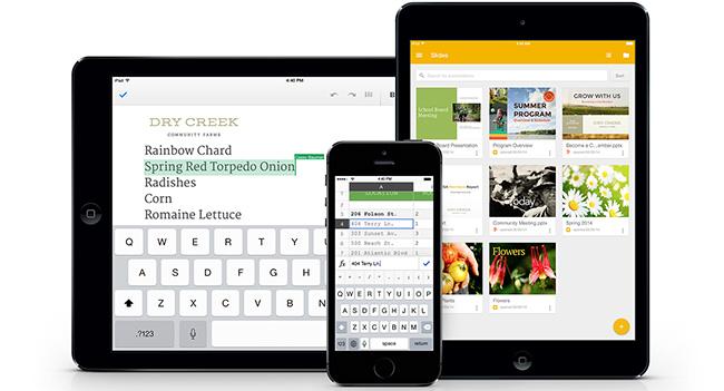 Google выпустила приложение Slides для iOS