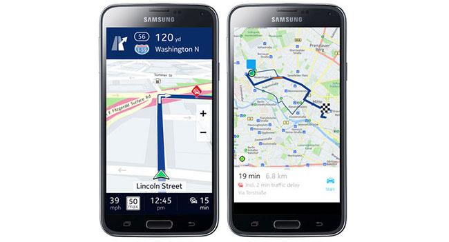 Samsung внедрит карты Nokia Here в смартфоны линейки Galaxy