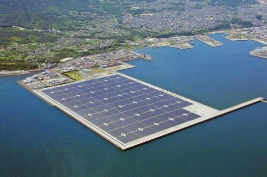 Плавающие солнечные электростанции