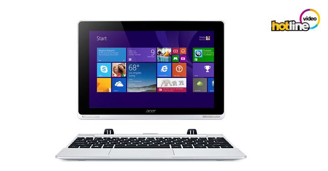 Видеообзор ноутбука-трансформера 2-в-1 Acer Aspire Switch 10