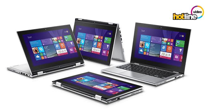 Видеообзор ноутбука-трансформера Dell Inspiron 11 (3147)