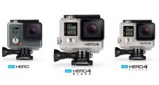 GoPro официально представила трио новых экшн-камер: Hero, Hero 4 Silver и Hero 4 Black