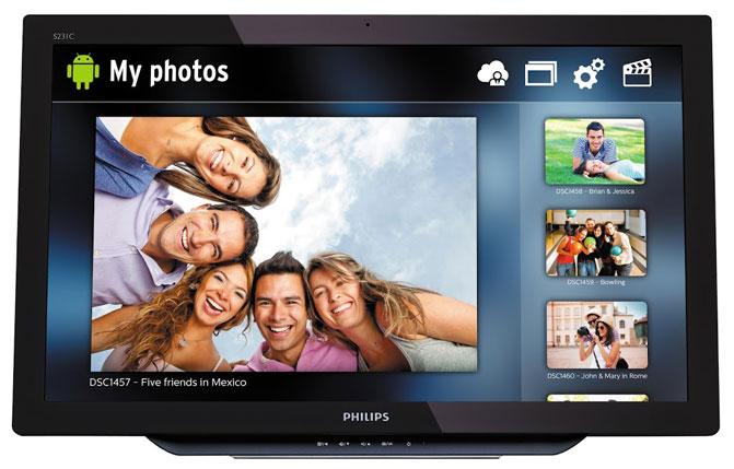 К выставке IFA 2014 компания Philips подготовила несколько новинок, при разработке которых особое внимание уделялось минимизации вреда здоровью пользователей. Для зрения людей, целый день проводящих с цифровыми устройствами, продолжительное излучение экрана в синем спектре несет серьезные риски. Новый монитор Philips SoftBlue снижает утомляемость глаз путём устранения излучения в синем спектре на волнах опасной длины. Это смягчает негативное влияние на глаза и улучшает самочувствие пользователя. Монитор SoftBlue использует новую технологию, снижающую пиковые значения излучения синего кристалла светодиода без какого-либо ущерба точности цветопередачи или яркости.  На выставке IFA 2014 также будут представлены новые модели линейки мониторов с разрешением 4K увеличенных размеров. В дополнение к 28-дюймовой версии UltraHD монитора будут показаны устройства с диагоналями 32 и 40 дюймов. Для нужд геймеров предлагается 27-дюймовый игровой монитор 272G5DYEB с поддержкой технологии NVIDIA G-SYNC и частотой обновления 144 Гц. Он обеспечивает более плавное отображение деталей в динамических сценах. В то же время для пользователей, профессионально работающих с графикой и мультимедийным контентом, предназначен новый 27-дюймовый монитор Philips 272P4A. Он обладает разрешением изображения Quad HD (2560x1440 точек) и способен воспроизводить широкую цветовую гамму пространства Adobe RGB. Кроме того, Philips подготовила к выпуску оригинальный 27-дюймовый монитор 275C5. Он выполнен в глянцево-белом дизайне Moda 2. Этот монитор имеет встроенный модуль Bluetooth для организации беспроводного рабочего пространства, а также поддерживает стандарт беспроводной передачи мультимедийного сигнала Miracast. Два встроенных динамика мощностью по 7 Вт позволяют использовать эту модель в качестве развлекательного центра в гостиной. При этом можно обойтись без прокладки проводом от источника сигнала (например, смартфона, планшета или ноутбука) к монитору. На выставке будут демонстрироваться и сенсорн