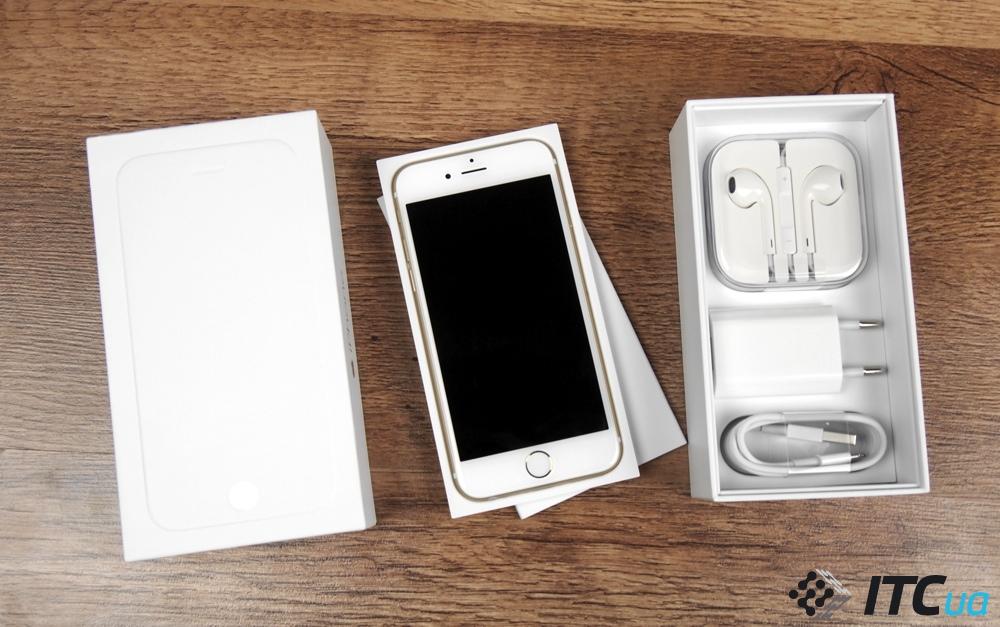 Почему у айфона 6 разное оформление коробок
