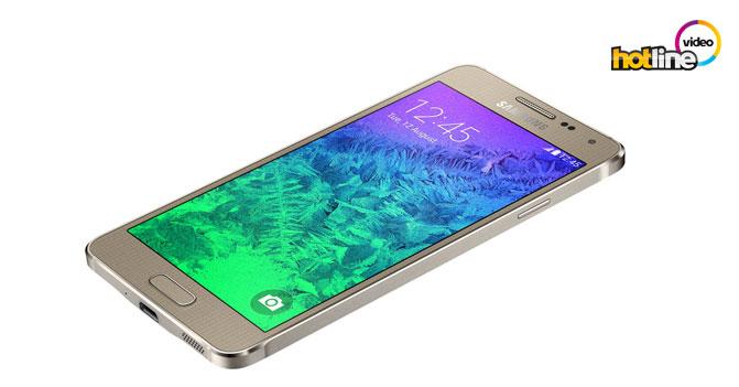 Видеообзор смартфона Samsung Galaxy Alpha