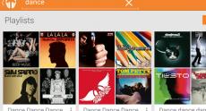 В Android-приложении Google Play Music появилась функция поиска публичных плейлистов