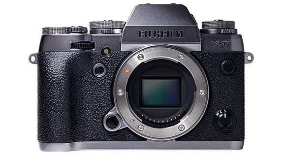 Fujifilm представила камеры X100T и X-T1 Graphite Silver Edition в ретро стиле