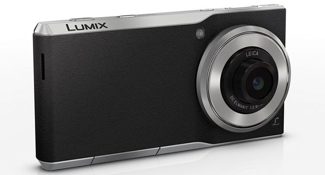 Panasonic оснастила смартфон дюймовым фотосенсором и объективом Leica
