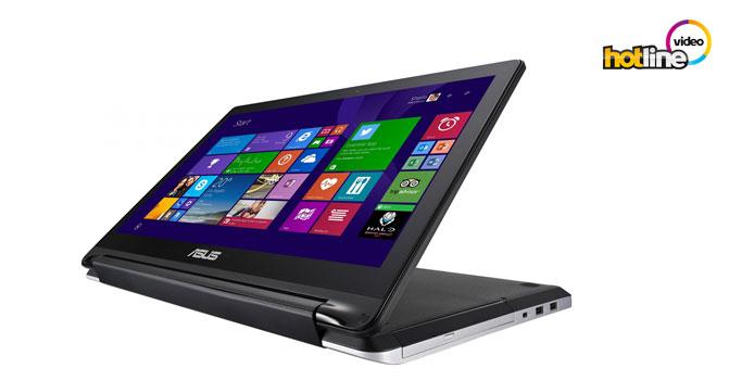 Видеообзор ноутбука-трансформера ASUS Transformer Book Flip TP550