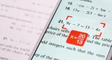 Бесплатное приложение PhotoMath решит математику за вас