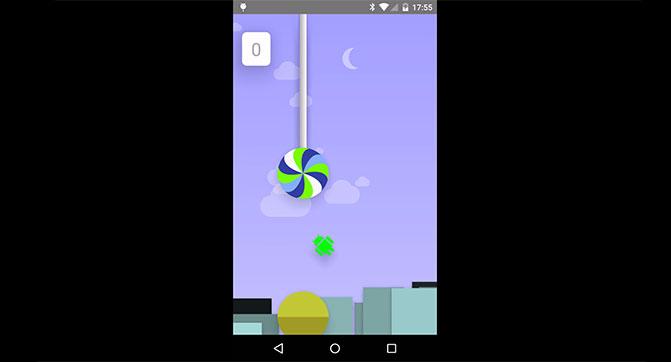 В Android 5.0 обнаружена «пасхалка» в виде клона игры Flappy Bird