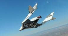 Космический корабль SpaceShipTwo разбился во время тестового полёта