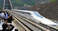 Япония провела первую публичную проверку маглев поезда на скорости 500 км/ч