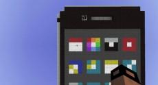 Внутри Minecraft собрали iPhone