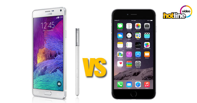 Видео: Apple iPhone 6 Plus против Samsung Galaxy Note 4