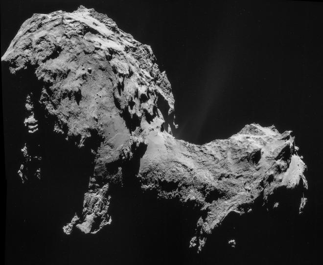 Сегодня может состояться первая в истории посадка спускаемого аппарата на поверхность кометы