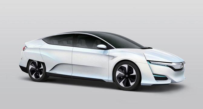 Honda анонсировала автомобиль FCV Concept на топливных элементах