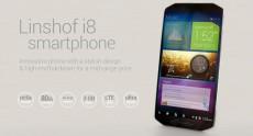 Linshof i8 – 8-ядерный смартфон с необычным дизайном и 80 ГБ памяти