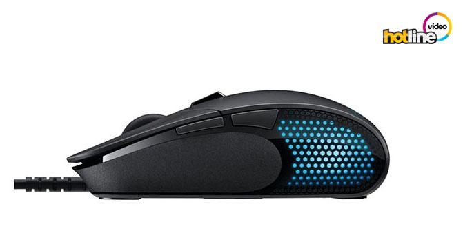 Видеообзор игровой мыши Logitech G302 Daedalus Prime