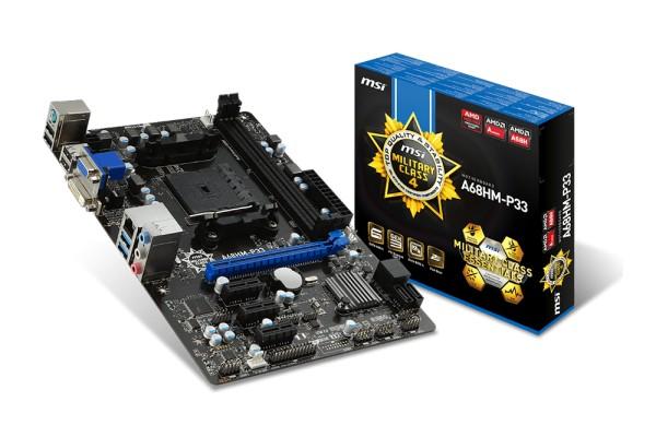 MSI представила платы c Socket FM2+ на базе чипсета AMD A68H