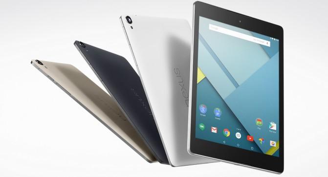 Начались продажи планшета Nexus 9