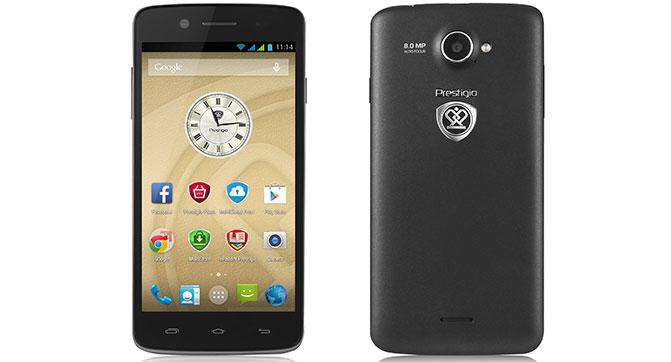Prestigio представила в Украине смартфон MultiPhone 5507 DUOс поддержкой двух SIM-карт