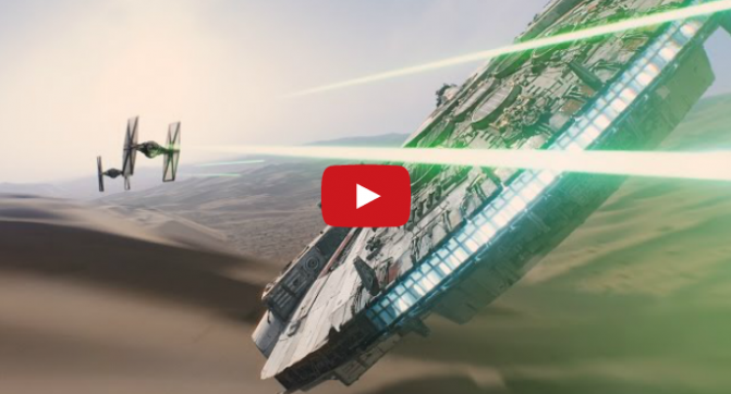Первый трейлер Star Wars. Episode VII: The Force Awakens