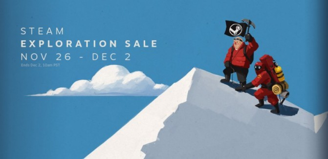 Steam Exploration Sale