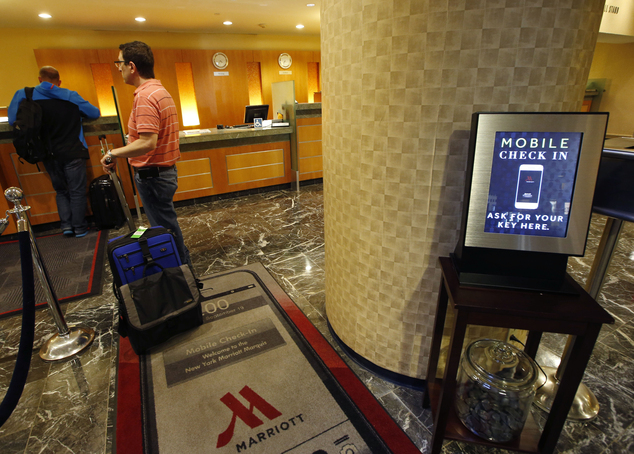 Smartphone Hotel Check-In