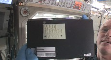 На борту МКС создан первый предмет при помощи 3D-печати