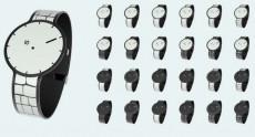 Фотографии и видео секретных часов Sony из электронной бумаги