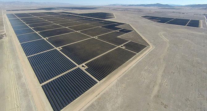 Запущена крупнейшая в мире солнечная электростанция мощностью 550 МВт