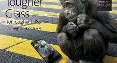Защитное стекло Corning Gorilla Glass 4 становится еще прочнее