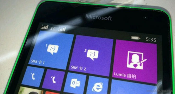 Microsoft скоро представит смартфоны Lumia 535 и Lumia 1330