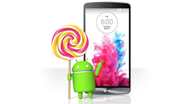 Обновление Android 5.0 Lollipop для смартфона LG G3 появится на этой неделе