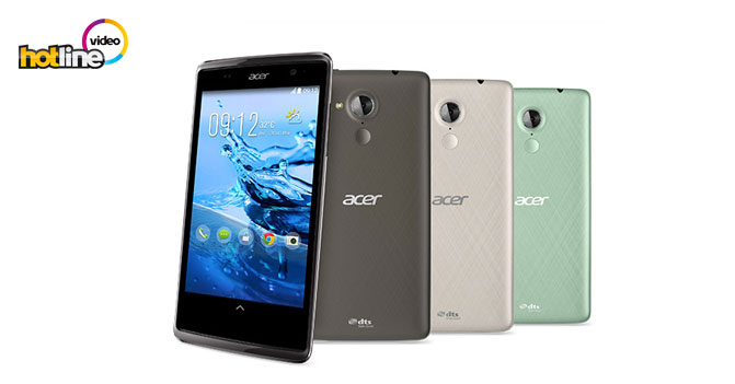 Видеообзор смартфона Acer Liquid Z500