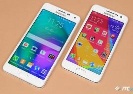 Сравнение размеров Galaxy A5 и A3