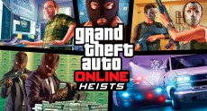 Новый кооперативный режим ограблений GTA Online Heists стартует в начале 2015 года [трейлер]