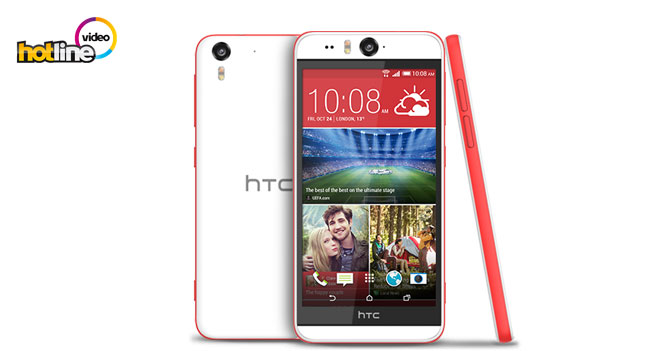 Видеообзор смартфона для селфи HTC Desire EYE