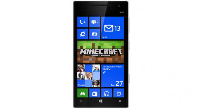 Minecraft Pocket Edition for WP8