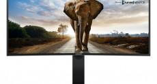 Изогнутый монитор Samsung SE790C построен на базе панели VA размером 34 дюйма и разрешением 3440х1440 точек
