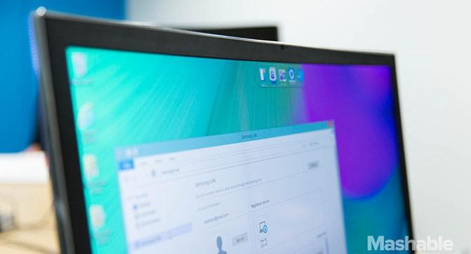 Samsung создала моноблок с изогнутым дисплеем