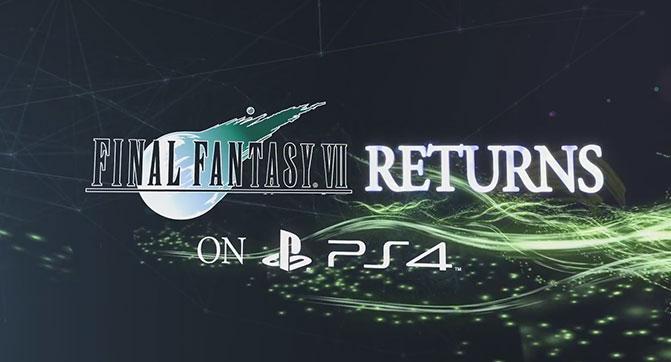 Square Enix выпустит версию Final Fantasy VII для PlayStation 4